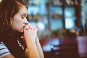 She's thinking about the Biblical Principles of Life