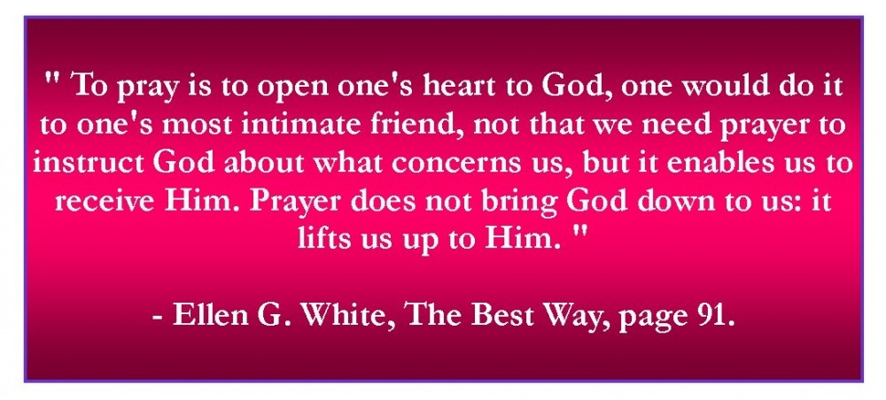 Open heart tp God
