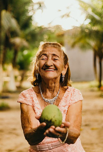 Healthy aging tips for seniors should always include the importance of food.